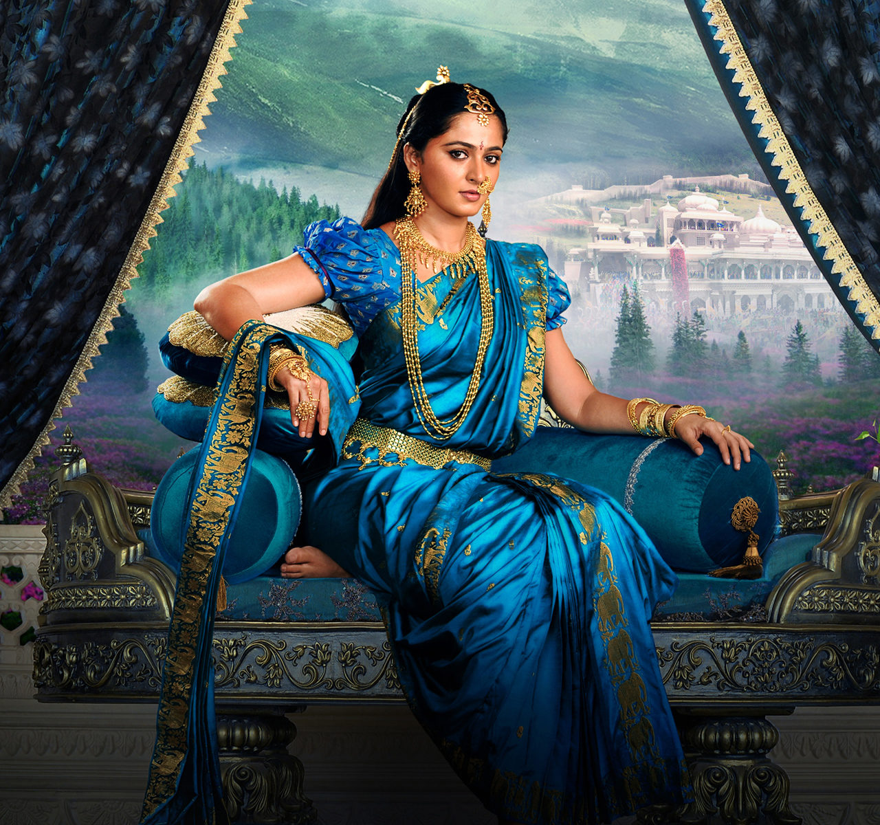 Free Hd Wallpaper For Android Tablet Anushka Shetty As Devasena In Baahubali 2 Wallpapers Hd