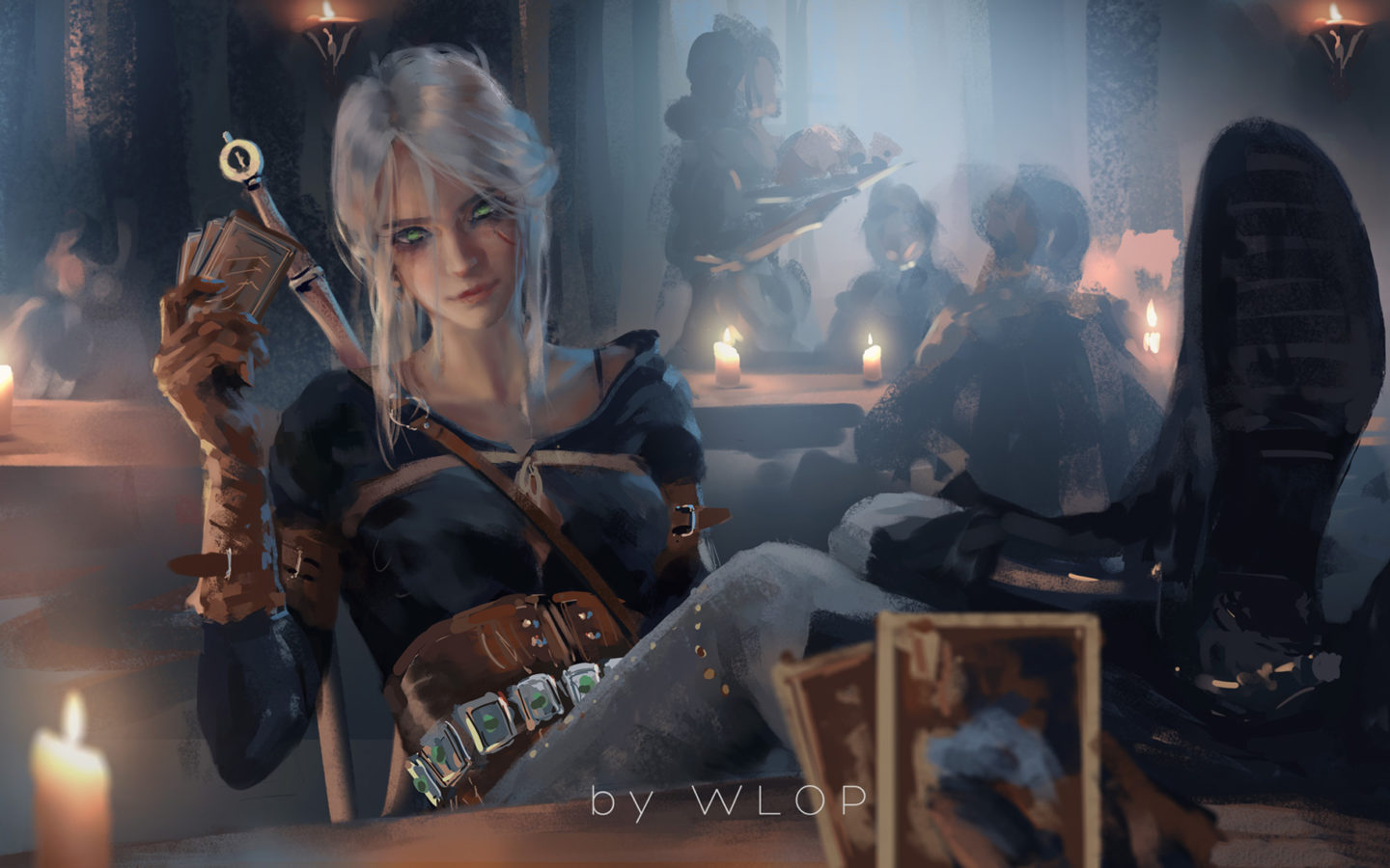 Download Wallpaper Iphone 5s Ciri Witcher 3 Fanart Hd Games 4k Wallpapers Hd Wallpapers