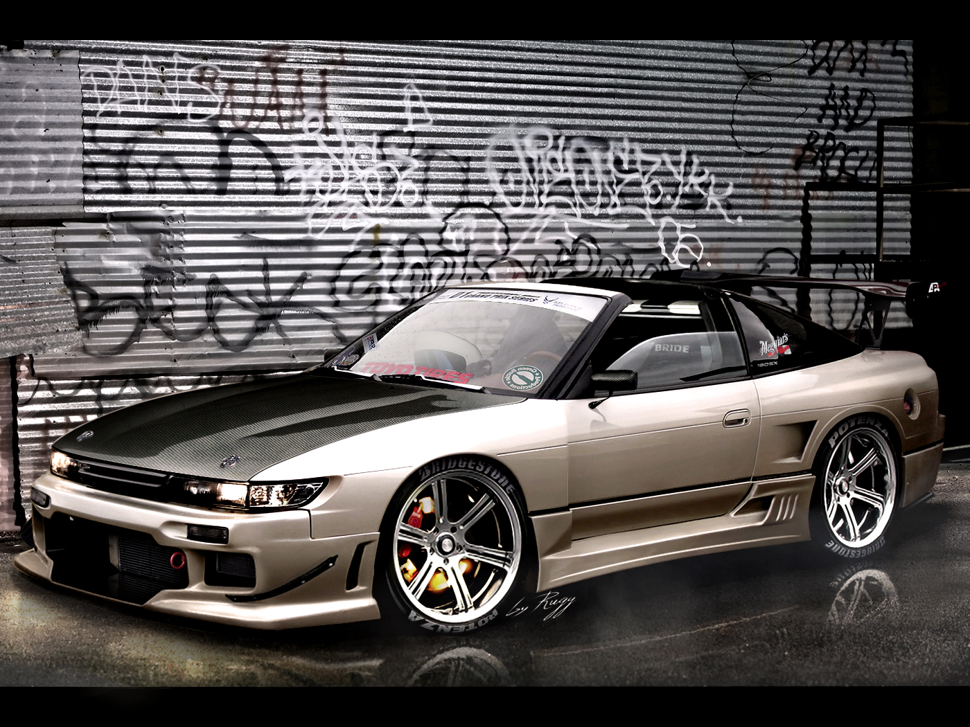 Pimped Out Cars Wallpapers Nissan Silvia Hd Wallpapers Pulse