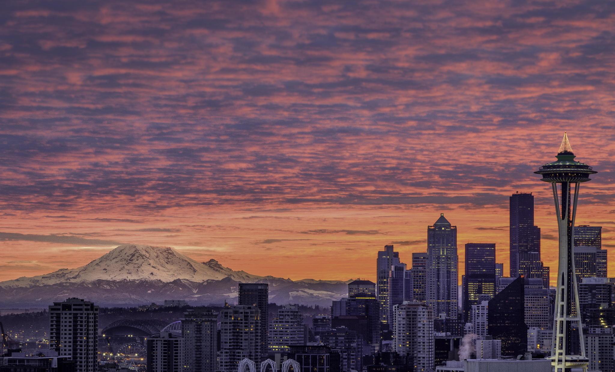 Seattle Washington Fall Skyline Wallpaper Seattle Wallpapers Hd Wallpapers Pulse