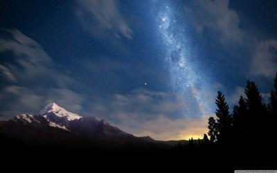 HD Starry Sky Wallpaper | HD Wallpapers Pulse