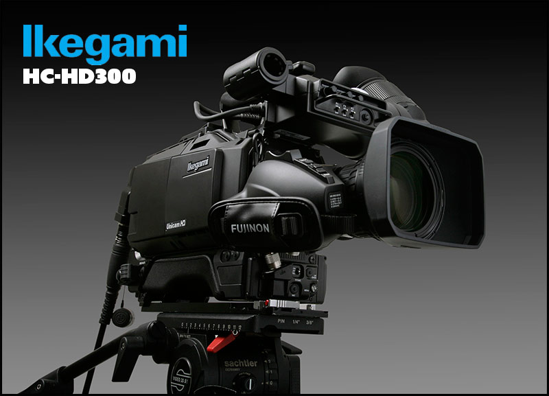 Ikegami-HC-HD300-front