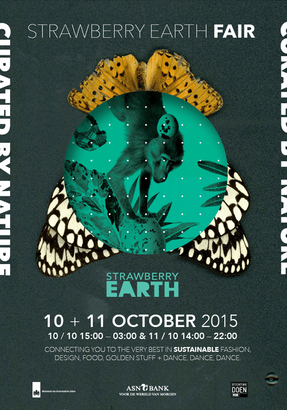 Strawberry earth fair campaign