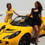 Lotus HeadBlade – masina sport femei sexy