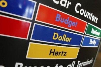 Car rental montage