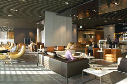 Lufthansa First Class terminal Frankfurt review