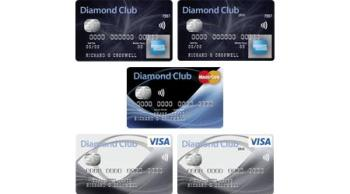 Diamond Club cards