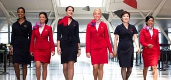 Virgin and Delta crew