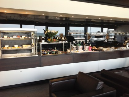 Swiss First Class Lounge Zurich review