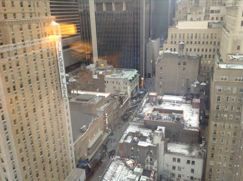 InterContinental New York Times Square review view