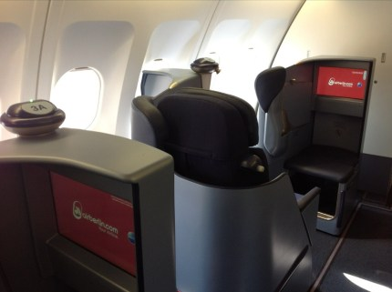 airberlin new business class seat
