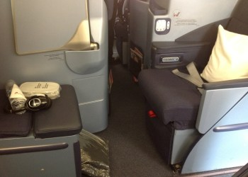 airberlin fully flat seat business class review 3