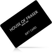 House of Fraser gift card 2