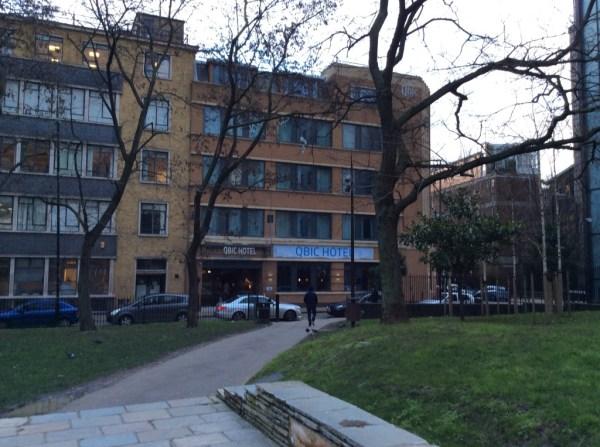 Qbic London hotel review - exterior