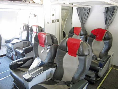 Meridiana business class