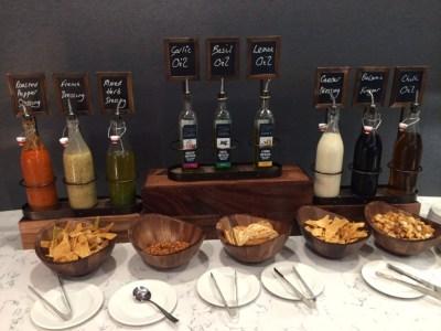 Heathrow Terminal 2 United Club lounge review - food 6