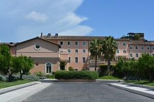 Gran Melia Rome entrance