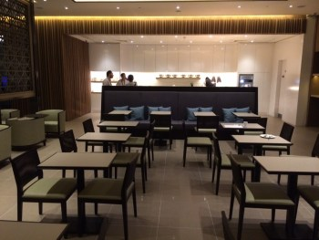 Plaza Premium Heathrow buffet