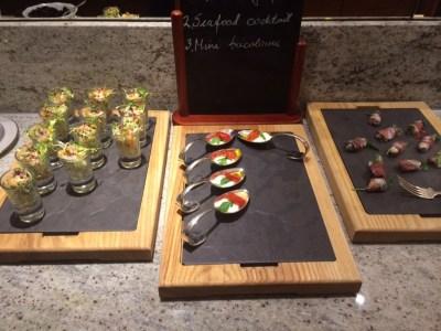 Conrad London St James lounge snack 2