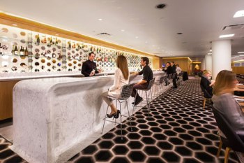 Qantas British Airways first class lounge Los Angeles 3
