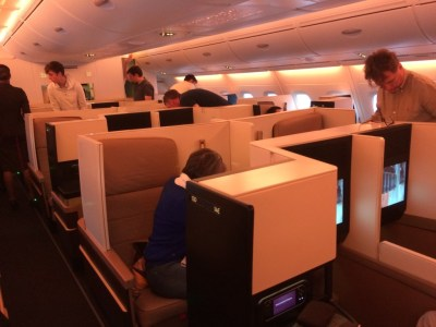 Etihad A380 Business Suite review overview