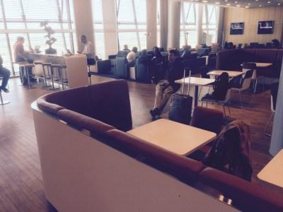 Lufthansa lounge Heathrow Terminal 2
