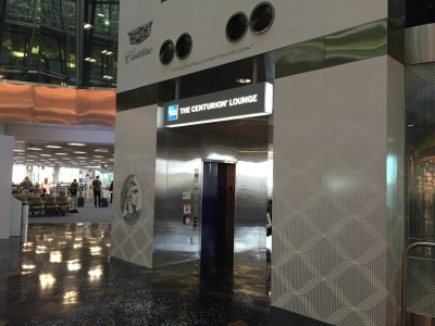 American Express Centurion lounge Miami 2