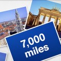 Lufthansa cuts return flights to Germany to just 7,000 miles for the Summer
