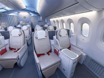 Royal Jordanian Boeing 787 business class