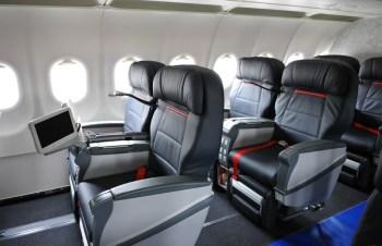 Turkish A320 business class