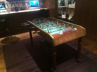No1Traveller lounge Heathrow Terminal 3 review games room