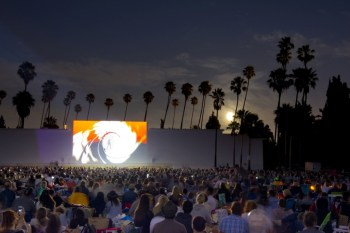 Hollywood forever cemetery Cinespia