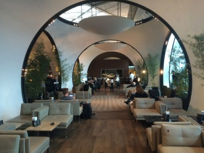 Review Turkish Airlines business class CIP lounge Istanbul