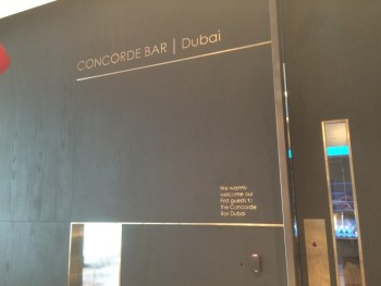 Concorde Bar Dubai