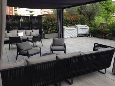 ME Milan presidential suite terrace