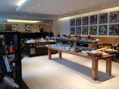 InterContinental Park Lane breakfast room