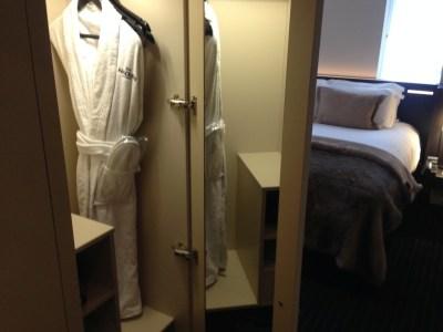 Nadler Hotel Victoria review - Wardrobe