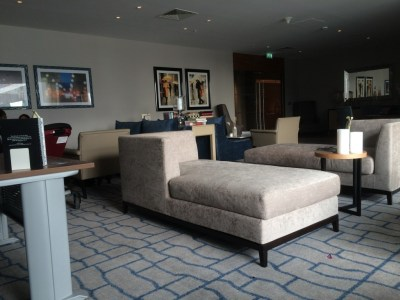 InterContinental London O2 review executive lounge