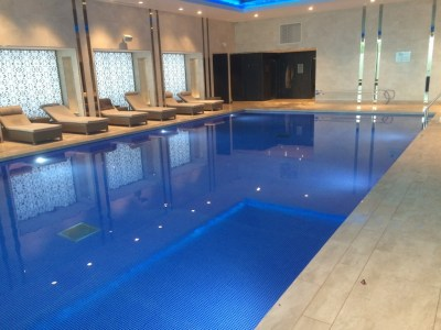InterContinental London O2 review pool