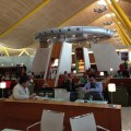 My review of the Iberia Dali VIP lounge in Madrid