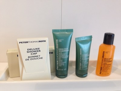 hilton tallinn park review bathroom toiletries