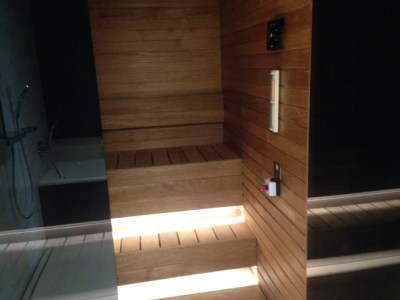 hilton tallinn park review private sauna