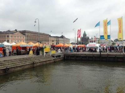 Helsinki city market waterfromt