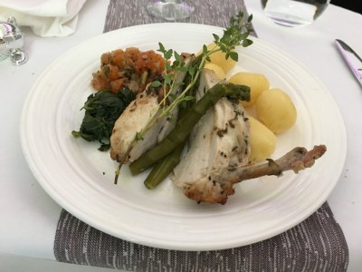 Review Virgin Atlantic Upper Class Boeing 787 food