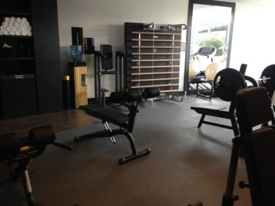 hilton tallinn park review gym