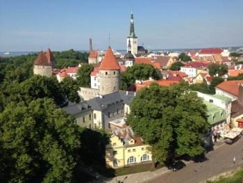 tallinn estonia old town view point