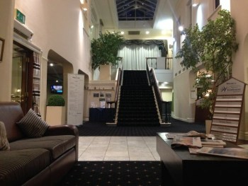 whitehouse hotel worcester entrance hall