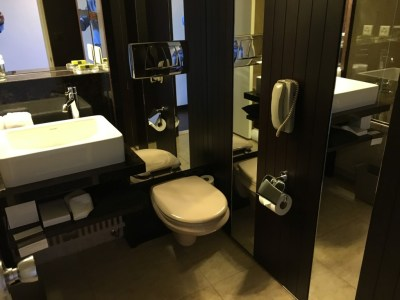 InterContinental Geneva review bathroom