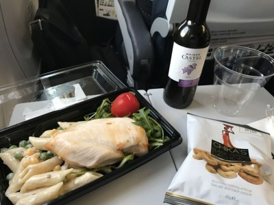CityJet flight review London City to Amsterdam