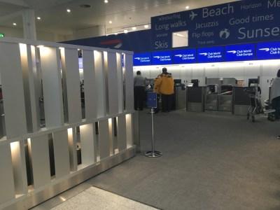 British Airways Gatwick South terminal